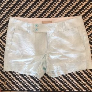 Banana Republic shorts.